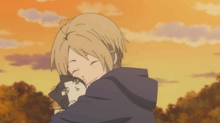 夏目友人帐: 妖怪变身猫咪陪着夏目, 竟然落泪了
