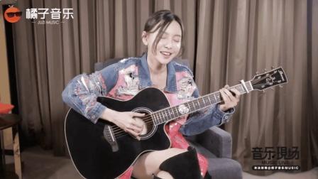 《前任3》女主于文文吉他弹唱《彩虹》, 和电影一样满满的感动