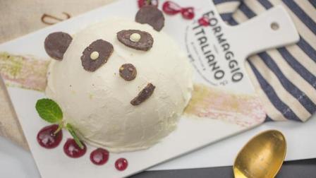 超萌的熊猫蛋糕