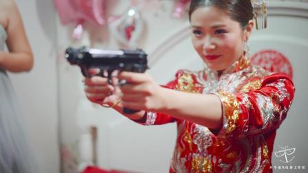 史上最会玩儿的新娘和最辣眼睛的新郎,未满十八岁禁止观看