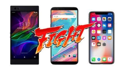 【对决•EP5】强强对决, Razer Phone vs 一加5T vs iPhone X