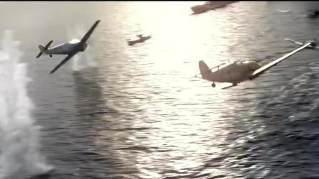 苏军拼死护卫撤退船队, 苏联敞篷战斗机伊16暴打德国BF109!