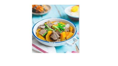培根讲糖-低糖创意菜南瓜炖牛肉