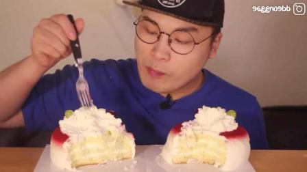 韩国的柠檬奶油蛋糕有多好吃? 柠檬汁做的奶油