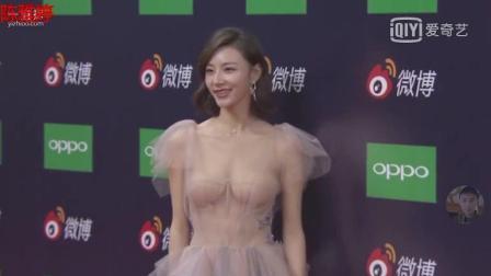 微博之夜陈雅婷穿着令记者疯狂