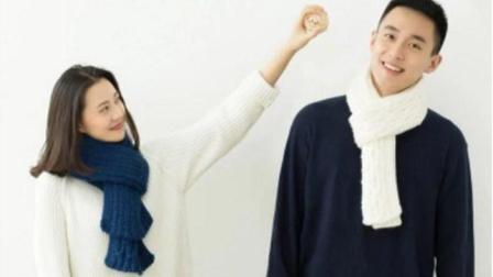 【金贝贝手工坊171辑】M119棒针玉米花围巾毛线手工棒针编织围巾围脖最新织法编织教案