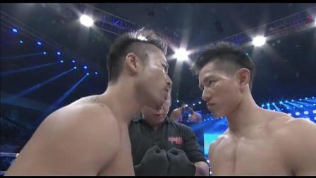 日本武士耍横挑衅中国拳手, 杨建平挥拳狂砸KO谷山文隆!