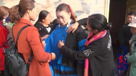 彝人视角彝族美女出嫁全村人都在为她打扮如此友爱的少数民族情羡慕到了没