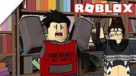魔哒roblox虚拟世界EP10 乐高方块人逃脱哈利波特图书馆