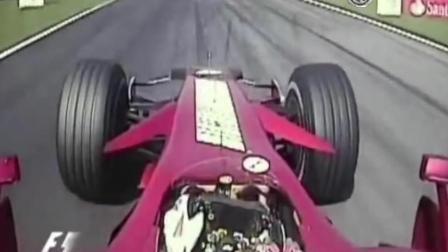 F1方程式赛车最拽的超车瞬间, 舒马赫不愧为车神