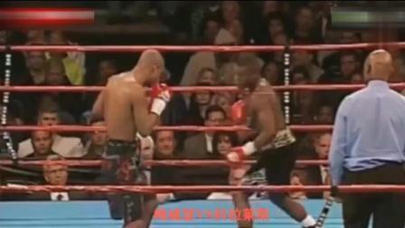 对手不屑梅威瑟的重拳! 结果惨被5次KO, 对手被打得站不起来