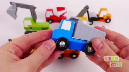 益智玩具: 组装挖土机垃圾车