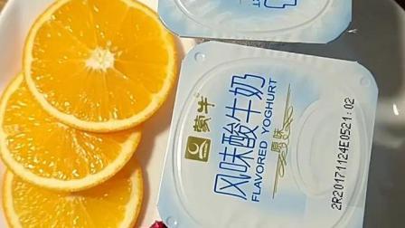 爱美食: 自制水果牛奶雪糕, 很简单!