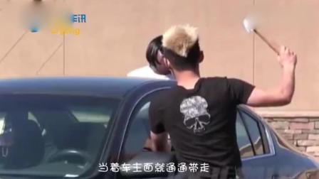 """大巴车强行碾压碰瓷男, 交警看了一眼监控""""不用赔"""", 只因这一点"""