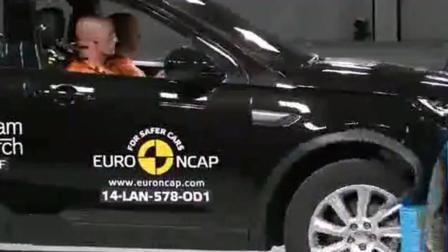 路虎发现神行ENCAP碰撞测试 测试结尾的国产车亮了