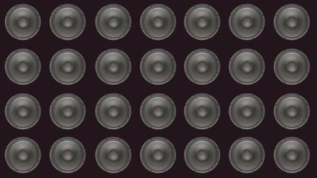 把48个超低音炮音响组合到一起播放, 会有怎样的效果?