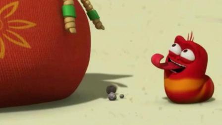 爆笑虫子-臭屁虫新年送祝福, 简直太可爱了, 我好喜欢它们啊!