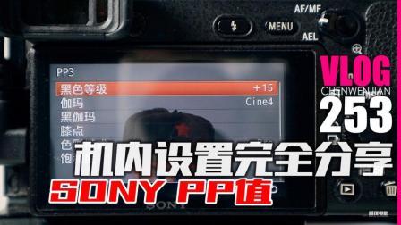 公布索尼SONY机内参数PP值全设定