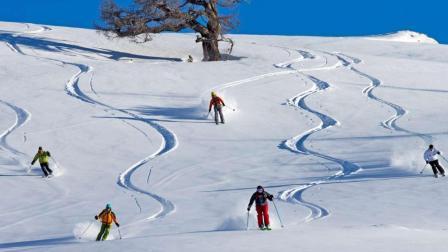 阿勒泰——在东方阿尔卑斯滑雪