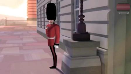 萌宠系动画小视频《死神与士兵》这个死神好可爱