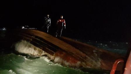 一中国渔船韩国海域倾覆