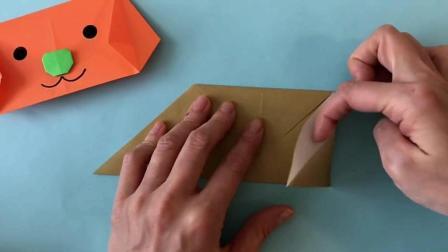 手工折纸系列: 教你折纸2018新年狗狗红包, 过年家中必备!