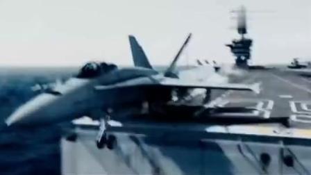 美军航母战斗机出动, 支援地面打丧尸