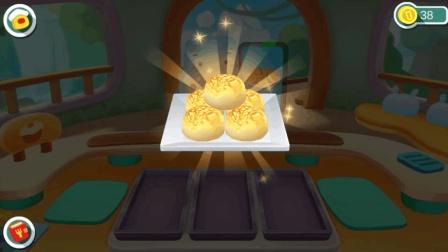 宝宝巴士美食屋 23 奇妙美食餐厅之黄金椰蓉包