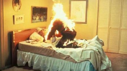 4分钟看完恐怖电影《猛鬼街1》, 想想自己做过的梦都很害怕