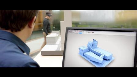 虚拟现实VR/MR/AR技术展示: 变革设计和施工