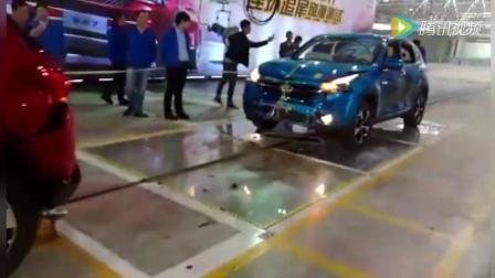 奇瑞汽车, 全球首次公开连环追尾碰撞测试, 车主很自豪!