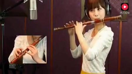 笛子教学视频 荷塘月色笛子教学