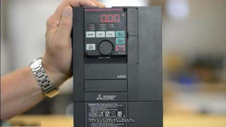 变频器编程实例, 如何编程三菱A800系列变频器