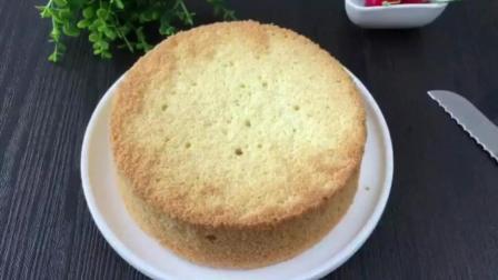 烘焙蛋糕学习技术 新手学做蛋糕视频 韩式裱花培训高级班刘清蛋糕烘焙学校