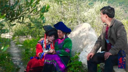 彝人视角这么多彝族美女围绕着新娘梳妆打扮你看了是不是想娶一个