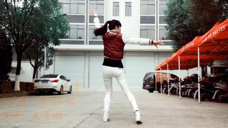 麦芽广场舞《轻松的士高》32步