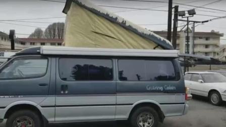 有谁见过这辆丰田面包车, 怎么和长安不一样啊, 能买到吗