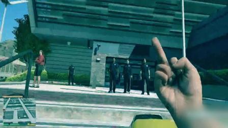 GTA5 : 游戏再次证明, 不要对着警察竖中指, 后果很严重!