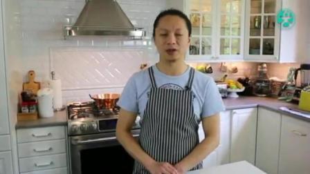 最简单的烤箱面包做法 烘焙学校 蛋糕的制作过程视频