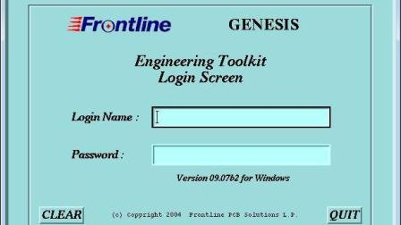 Genesis2000拼SET之倒扣拼板