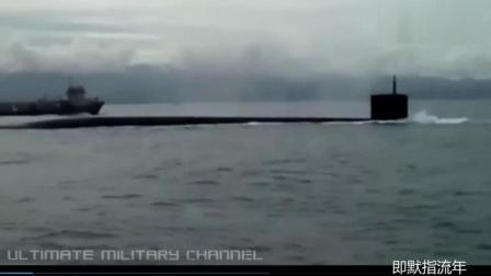 美军核潜艇海上巡弋和紧急下潜视频(罕见的内部潜望镜镜头和潜水声音)