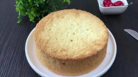 蛋糕甜点培训学校 烘焙学校 原味蛋糕的做法