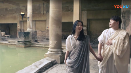 2018巴斯罗马浴场博物馆欢迎中国游客