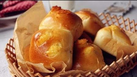 椰香小面包这样做好吃, 香甜松软, 营养美味, 简单好学