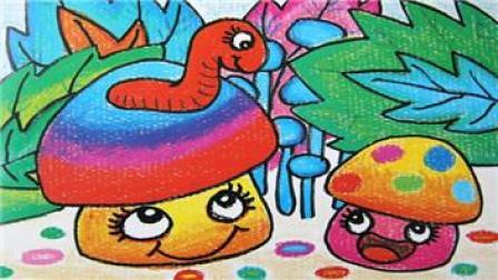儿童画画大全简笔画 简笔画教程 卡通画教程 儿童学画画 米老鼠长颜草