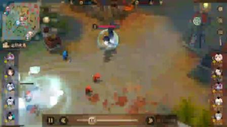 gank遭遇敌方跳跳妹妹, 操作反杀对面
