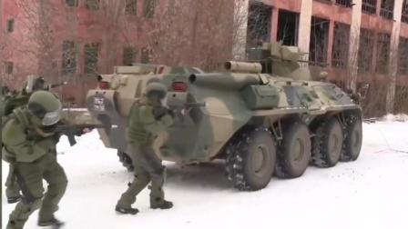 俄战斗工兵展示战斗力, 从二战起开路全靠炸!