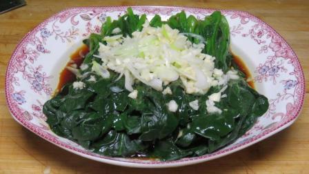 菠菜别再炒着吃, 试试这种新做法, 营养美味又简单