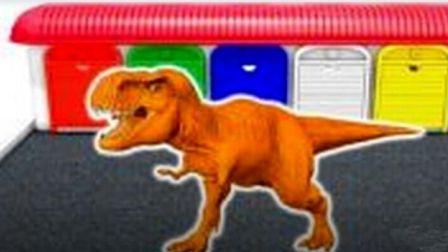 熊出没熊大熊二光头强被抓 恐龙世界总动员 恐龙侏罗纪世界