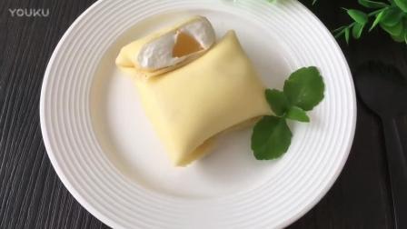 合肥私人烘焙教程 黄桃班戟的制作方法nh0 烘焙蛋糕教程